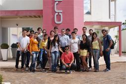 Visita dos alunos da UCDB à Criatrix
